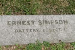 Corp Ernest Simpson