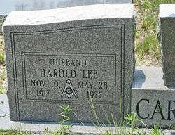 Harold Lee Caraway