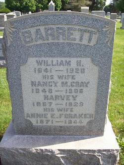 Annie E <i>Foraker</i> Barrett