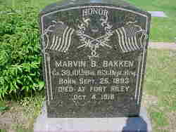 Marvin B Bakken