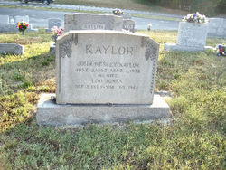 Lou <i>Jones</i> Kaylor