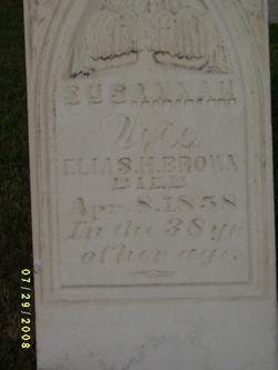 Susannah Brown