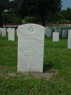 PFC Daniel Webster Barnes