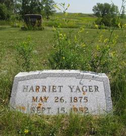 Harriet Cynthia <i>Niles</i> Yager