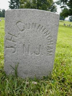 Pvt James H. Cunningham