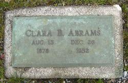 Clarabel Abrams