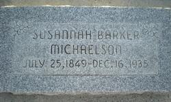 Susannah <i>Barker</i> Michaelson