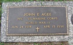 PFC John E Agee