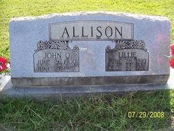 Lillie <i>Kees</i> Allison