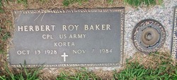 Corp Herbert Roy Baker
