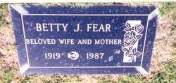 Betty Jane <i>Talbot</i> Fear