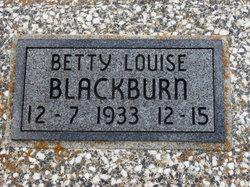Betty Louise Blackburn