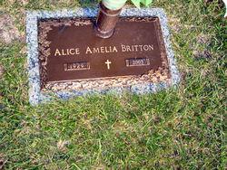 Alice Amelia Britton