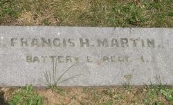 Pvt Frank H. Martin