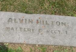 Pvt Alvin Hilton
