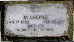 M. Leone <i>Carlson</i> Brown