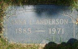 Anna Lydia <i>Tanquist</i> Anderson