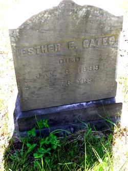 Esther E. <i>Alexander</i> Gates