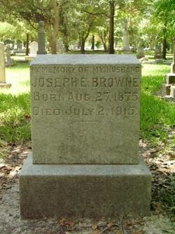 Joseph E Browne