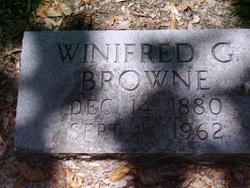 Winifred Gertrude Browne
