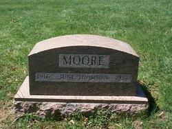 June <i>Thomson</i> Moore