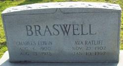 Ava Margaret <i>Ratliff</i> Braswell