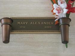 Mary Aleck <i>Karetoff</i> Alexander