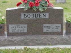 Alice Faye <i>Crouch</i> Borden