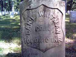 Pvt Daniel Whitman