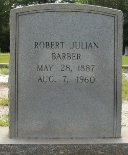 Robert Julian Barber, Sr