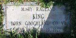 Mary <i>Ragland</i> King