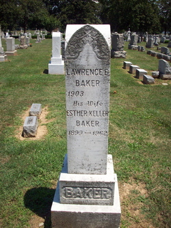 Esther <i>Keller</i> Baker