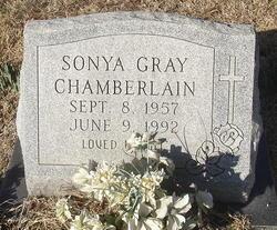Sonya <i>Gray</i> Chamberlain