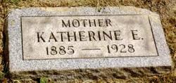 Katherine E <i>Zinn</i> Markham