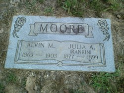 Julia A. <i>Rankin</i> Moore