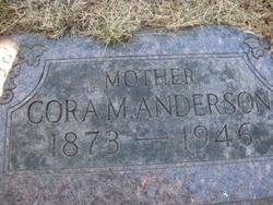 Cora Mae <i>McIntire</i> Anderson