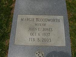 Margie <i>Bloodworth</i> Jones