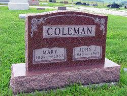 Mary <i>Eshelman</i> Coleman
