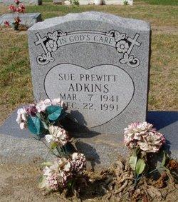 Sue <i>Prewitt</i> Adkins