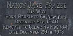 Nancy Jane Jennie <i>Frazee</i> Anderson