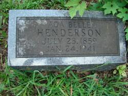Ada Belle <i>House</i> Henderson