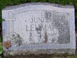 June J. <i>Barlow</i> Lehman