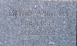 Mathew Whitney