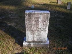 Irene Elizabeth <i>Cooner</i> Alexander
