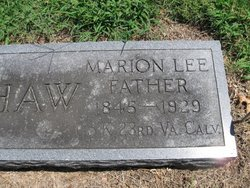 Marion Lee Henshaw