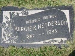 Virgie K Henderson