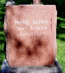 Marie <i>Bodey</i> Benda