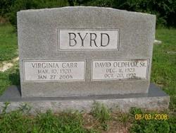 Virginia Boney Doodle <i>Carr</i> Byrd