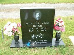 Nelda Sue <i>Adams</i> Burch