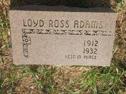 Loyd Ross Adams
